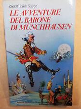LIBRO Le avventure del barone di Munchhausen   AUT. Raspe  cod.5188