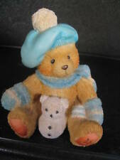 Cherished Teddies Jack January Month Bear w/ Snowman