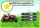 """3 X Ride on Mower Blades Husqvarna 42"""" Side Discharge to Suit Yth2242tdf Models"""