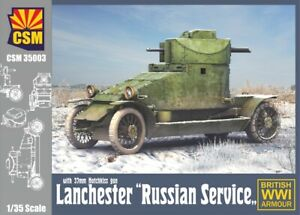 Copper State Models 1/35 RUSSIAN WWI LANCHESTER ARMORED CAR
