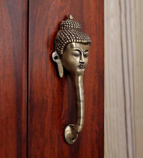 Tibet Buddha Door / Cupboard Cabinet Handle Puller Brass Buddhism Home Decor