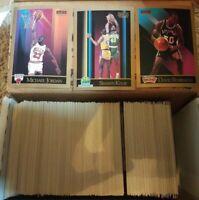 Huge Lot 1990-1991 NBA Basketball Skybox Michael Jordan & more 400+ cards rares