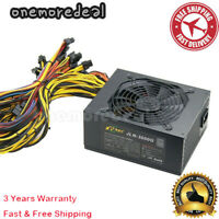 JLN-3000G 2400W ATX Power Supply PSU Power Supply For Multiple Graphics Cards