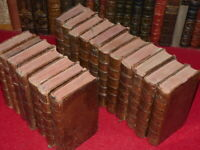JEAN PIERRE NICERON / MEMOIRES HOMMES ILLUSTRES 17 Vol Briasson Rare 1727-1745