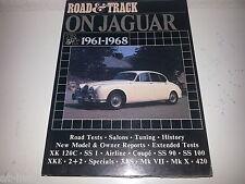 Road & Track on Jaguar 1961-68 Jaguar E * SS 100 * 420 * XK 120 * XKE * 3,8 S Se