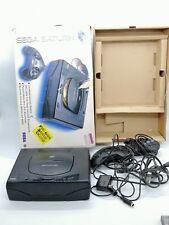 Sega Saturn console con scatola versione americana videogame non testata