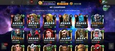 MLCO compte Marvel Contest of Champions 6 Star champions