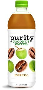 Purity Organic Espresso Coconut Water 16.9 oz ( Pack of 6 )