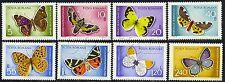 1969 Butterflies,Jersey Tiger,Orange,Pallas,Emperor,Schmetterlinge,Romania,2771