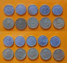 Repubblica Italiana 100 Lire + 200 Lire Arma dei Carabinieri anno 1994