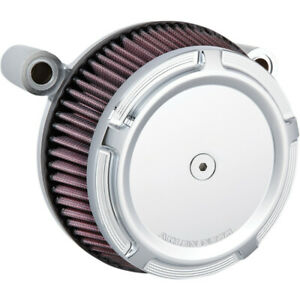 Arlen Ness Big Sucker Stage I Air Filter Kit w/ Synthetic Filter, Beveled 50-847