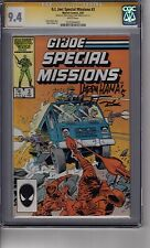 GI Joe Special Missions #3 CGC 9.4 SS  *2x Signed* *Herb Trimpe & Larry Hama Si