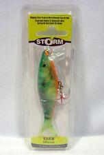 """Storm 4"""" Firetiger Kickin Minnow 3/8 oz Fishing Lure Crankbait"""