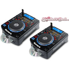 Pair of Numark NDX500 | USB CD Media Player & Software DJ Controllers