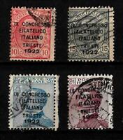1922-Trieste-Congresso Filatelico -sassone S 22 -  8