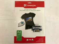Mirror A4 Iron on Transfer Printer Paper for Dark T- Shirts / 5 Sheets / 300gsm
