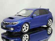 Otto Mobile Ottomobile Subaru Impreza WRX STI 2008 Blue Mica Resin Model 1:18