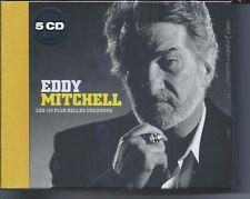 Eddy Mitchell Coffret 5 CD les 100 plus belles chansons  NEUF sous cellophane