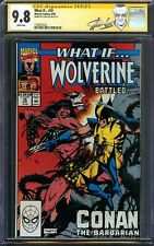 What If? #16 CGC 9.8 SS STAN LEE X-Men Wolverine vs Conan Kwapisz Cover Marvel