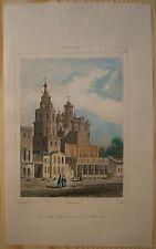 1838 print ASSUMPTION CHURCH, POKROVKA STREET, MOSCOW, RUSSIA (#39)
