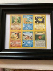 Original Neo Genesis UNCUT 6 Pokémon Card Sheet!
