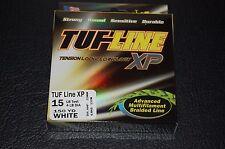 TUF-Line XP White 15 lb Test 150 yards Multifilament Braid Fishing Line XP15-150