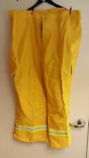 Western Shelter Systems FR Cotton Brush Pants with Reflective, XXXL x 30, Yellow