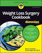 Weight Loss Surgery Cookbook for Dummies (Paperback or Softback)