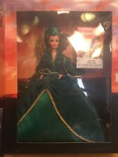 Mattel Barbie-1994 Scarlett Green Velvet Dress Doll - Hollywood Legends # 12045