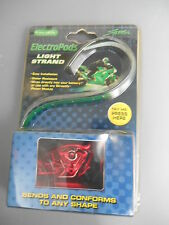 "NOS ElectroPods Motorcycle Green 15 LED 12"" Light Strand 480362"