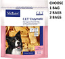 CET Enzymatic Oral Hygiene Chews for Large Dogs 26-50 Pounds 30ct EXP 5/2021