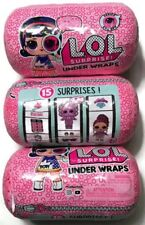 LOL SURPRISE UNDER WRAPS Eye Spy Series 4 Big Sisters Doll Capsule. 3-PACK!