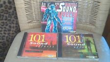202 Digital Sound Effects 2 X CD **MACHINES OF WAR** SOUNDS OF HORROR ** FR POST