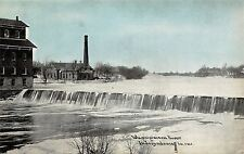 Independence Iowa~Wapsipinicon River Dam~City Water Works~1908 CU Williams PC