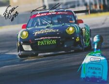 2010 Alex Job Racing Porsche 911 GT3 Cup GTC signed IMSA ALMS postcard