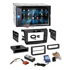 JVC DVD BT Sirius Spotify Stereo Dash Kit Amp SWC Harness for 07-09 Mazda CX-7