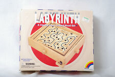 P850/DM New Entertainment Labyrinth Hand Crafted Wod Set Kids Age 6+ , Players 1