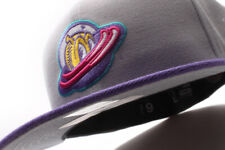 New Era Great Falls Voyagers MiLB Gray Purple Fitted Cap GR
