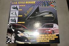 NEW APC LED STYLE MIRROR 1996-2000 HONDA CIVIR 2DR/3DR MANUAL MIRROR BLACK