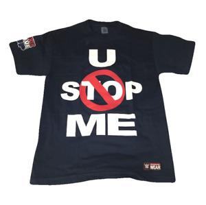 John Cena U CAN'T STOP ME C ME BLUE WWE Authentic T-Shirt OFFICIAL NEW