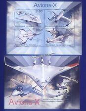 Postfrische Briefmarken mit Verkehrs- & Transport-Motiven aus Burundi