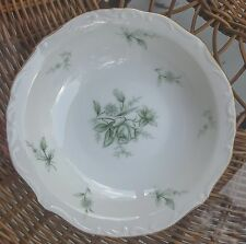 Jade Rose by Yamato Japan Green White Dessert Fruit Sauce Bowl