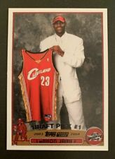 Lebron James 2003 Topps #221 RC Rookie Cavaliers Lakers Mint RP
