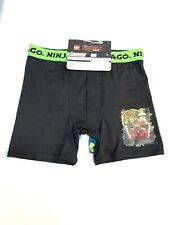 2 boys atletic boxer briefs ninja go Size 10