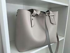 CARVELA grey and soft pink handbag with dust bag