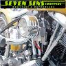 MOONEYES HOTROD AIR CLEANER LOUVERED CHOPPER SUPER E G MOTORCYCLE CV HARLEY S&S