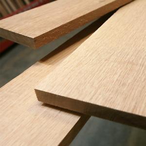 19mm Solid American Red Oak Furniture Board - 2400x600x19mm 2400 x 600 x 19mm
