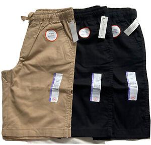 Wonder Nation Boys School Uniform Shorts Lot of Three Size XL (14-16)