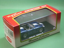 AC Shelby Series 1 blau Kyosho 1:43 No.03131BW Museum Collection Modellauto
