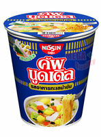 Nissin SEAFOOD CREAMY Flavour Instant CUP Noodle HIKING FOOD Camp Meals 60g.
